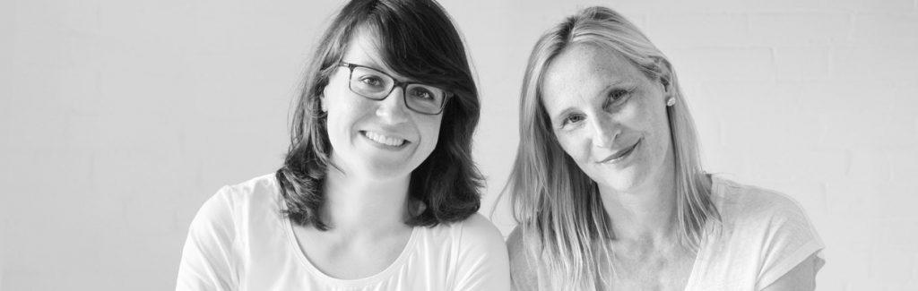 Miriam Oster, Apothekerin und Inhaberin + Maja Borges, Organsation