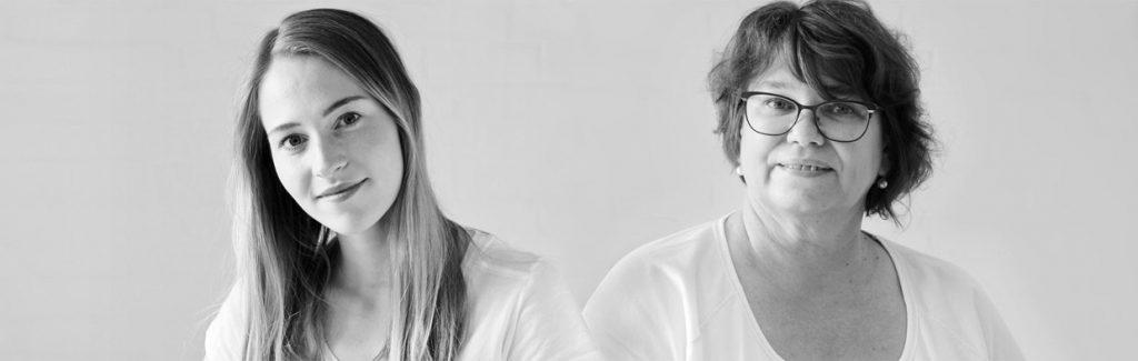 Karina Storck, PTA + Marie Oster, PTA-Schülerin